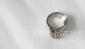 批发供应不锈钢戒指 镶石 简约时尚 男女通用