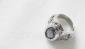 厂家直销 镶石不锈钢戒指 时尚简约
