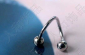 RH-113厂家直销不锈钢饰品:耳钉、穿刺饰品