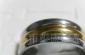 供应不锈钢镀金戒指(图)